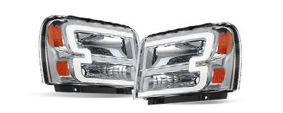 Headlights Assembly