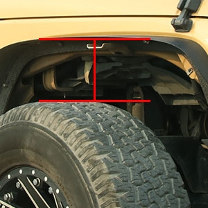 Larger Tire Off-Road Style