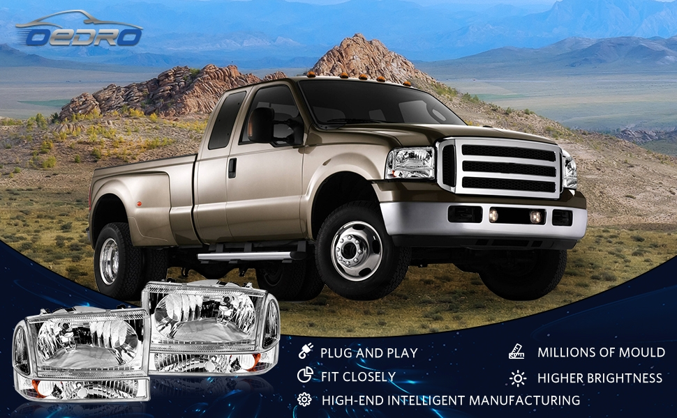 headlights for Ford F250 F350