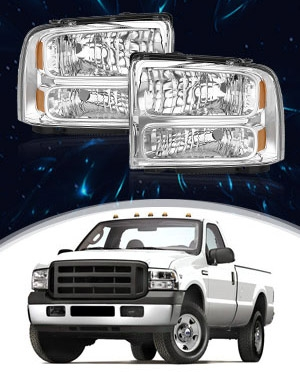 headlight assembly for F250 350