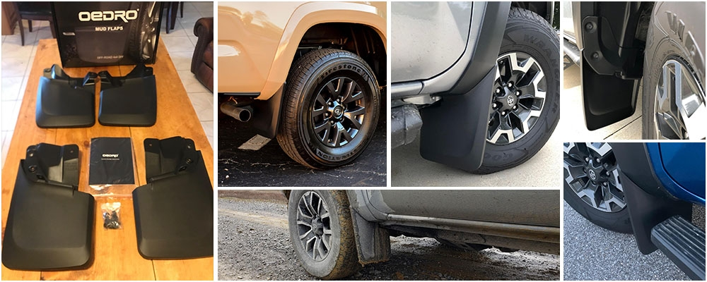 OEDRO tacoma mud flaps review pictures